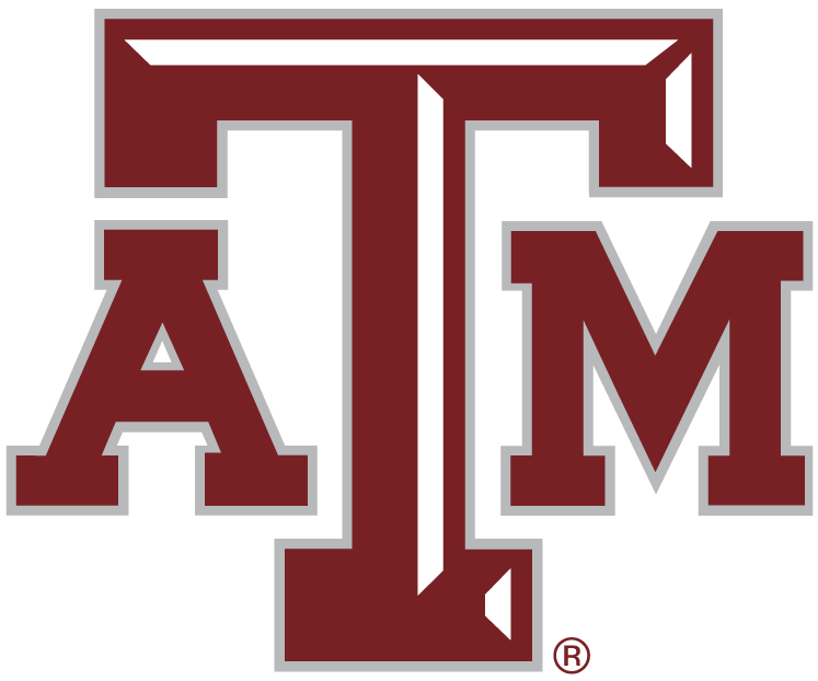 Texas A&M Aggies iron ons