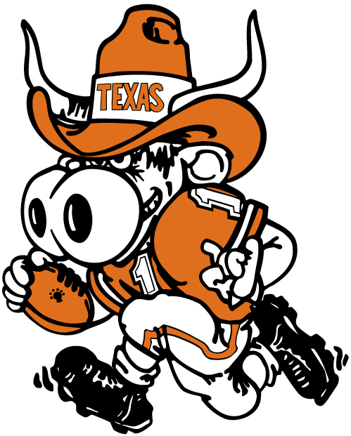 Texas Longhorns 1981-2002 Mascot Logo v2 iron on transfers for clothing