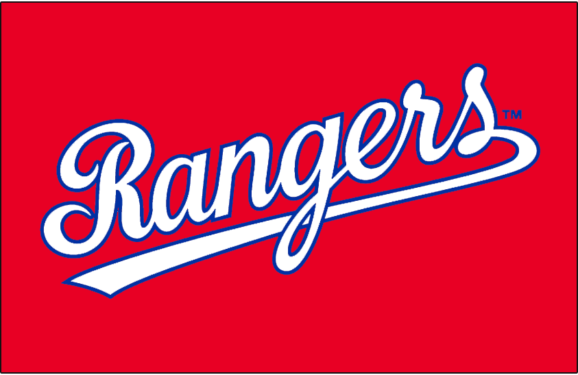 Texas Rangers 1984-1985 Jersey Logo iron on transfers for clothing