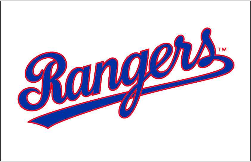 Texas Rangers 1984-1993 Jersey Logo iron on transfers for clothing version 2