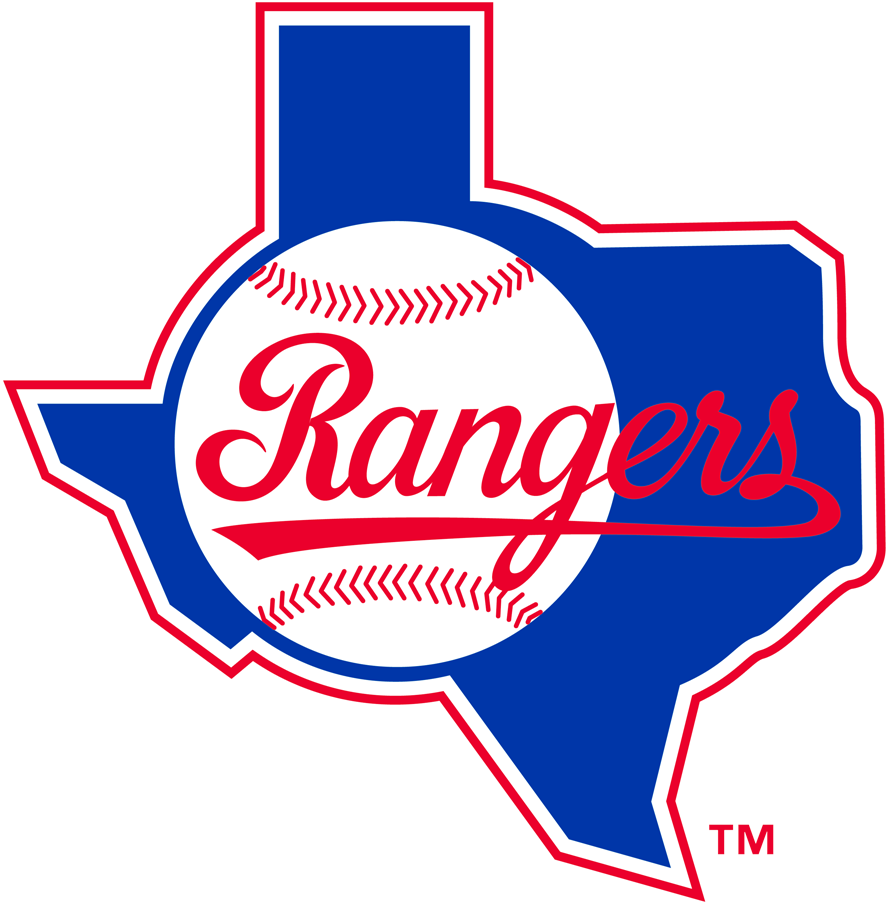 Texas Rangers 1984-1993 Primary Logo iron on transfers for clothing