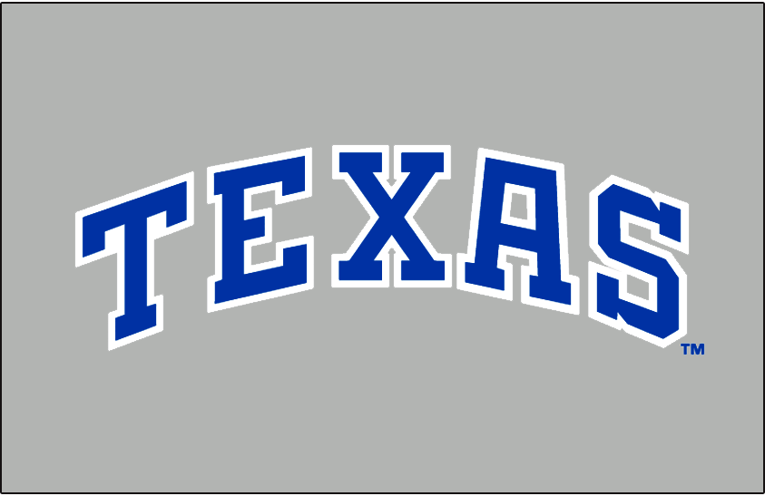 Texas Rangers 1985-1993 Jersey Logo iron on transfers for clothing