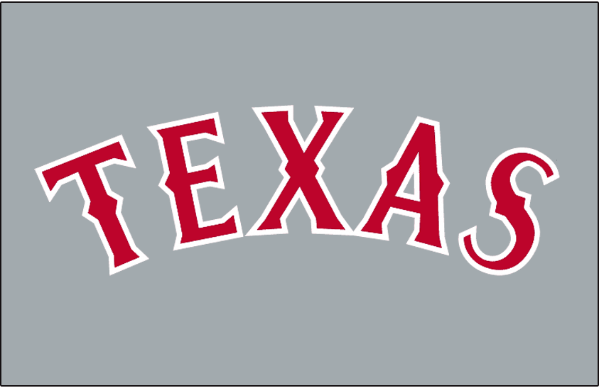 Texas Rangers 1994 Jersey Logo iron on transfers for clothing