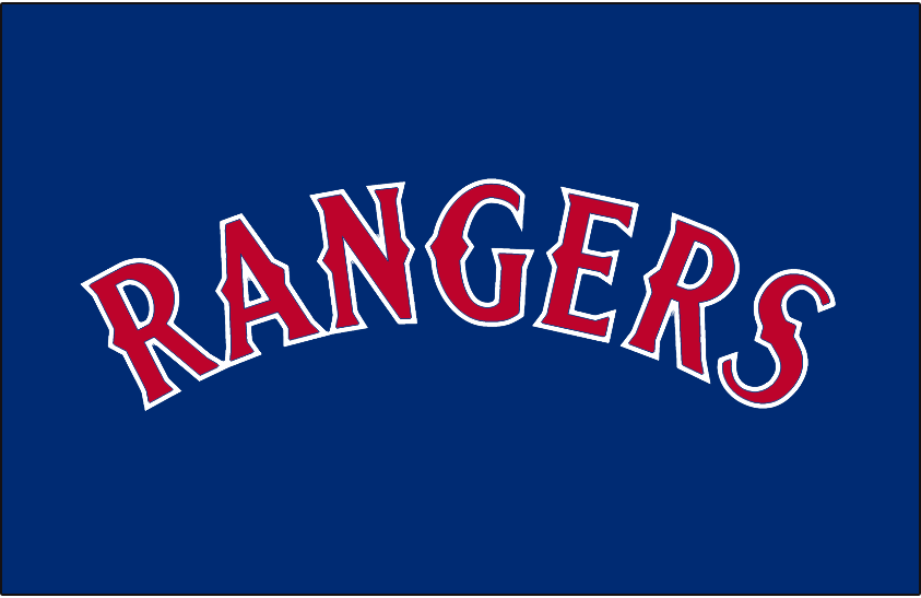 Texas Rangers 1994-2000 Jersey Logo iron on transfers for clothing version 2