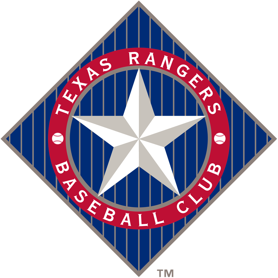 Texas Rangers 1994-2002 Primary Logo iron on transfers for clothing
