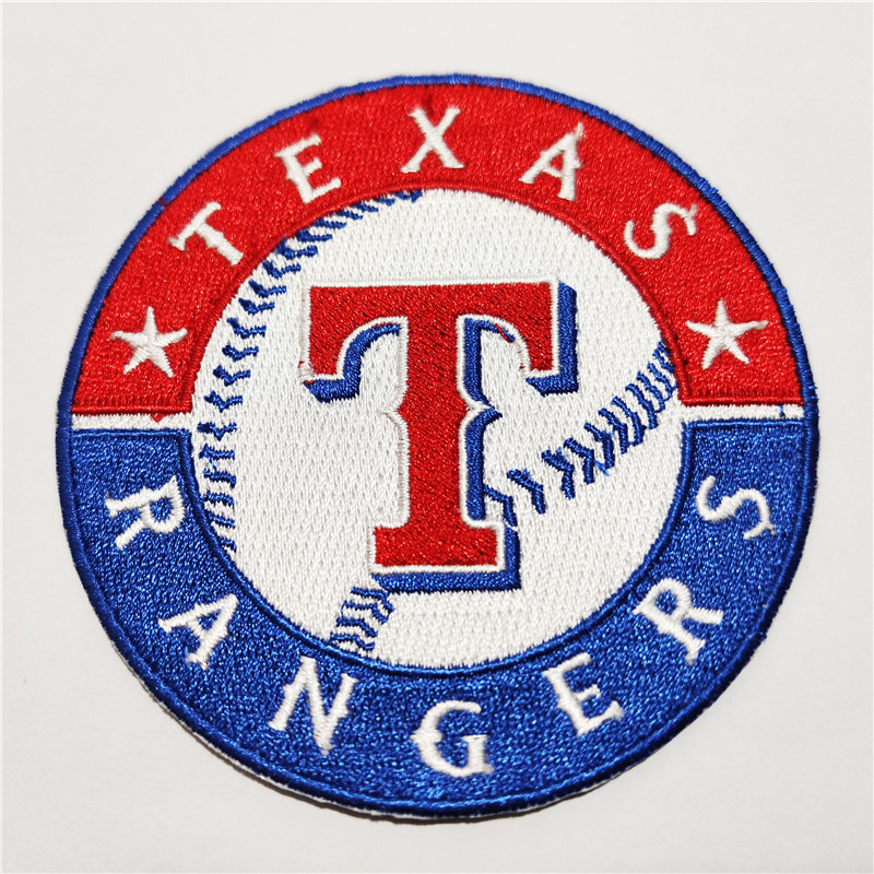 Texas Rangers Logo Iron-on Patch Velcro Patch 3.5 inches