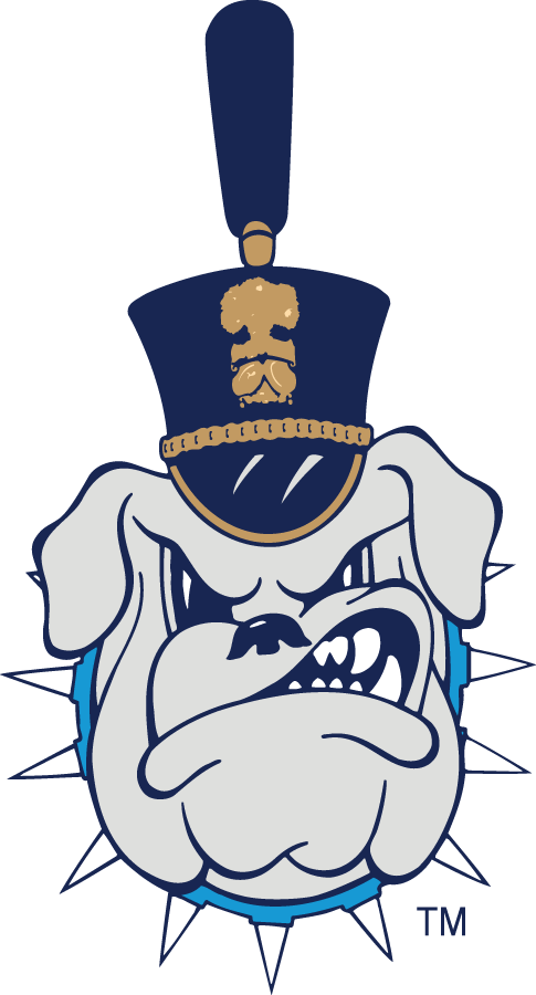 The Citadel Bulldogs 0-Pres Secondary Logo v2 iron on transfers for clothing