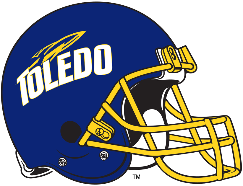 Toledo Rockets 1997-Pres Helmet Logo iron on transfers for clothing
