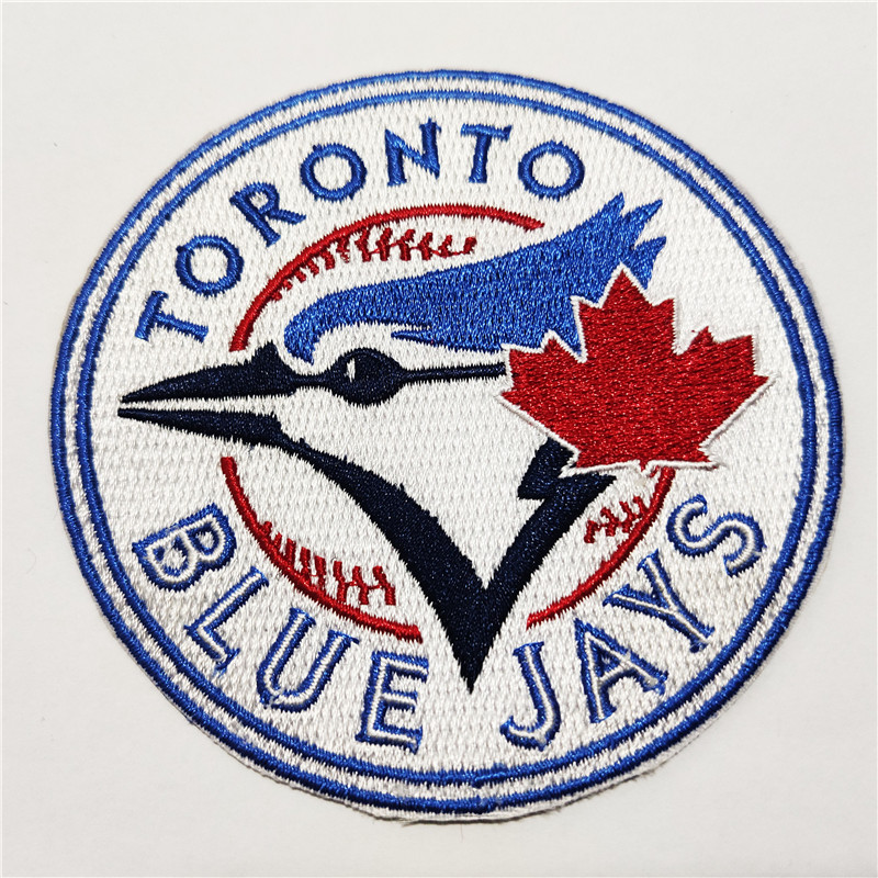 Toronto Blue Jays Logo Iron-on Patch Velcro Patch 3.5 inches