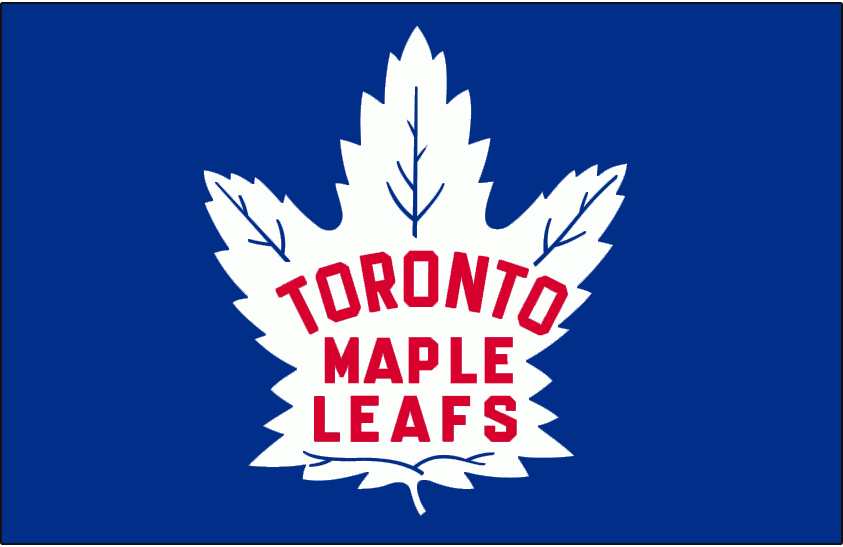 Toronto Maple Leafs 1945-1948 Jersey Logo iron on transfers for clothing