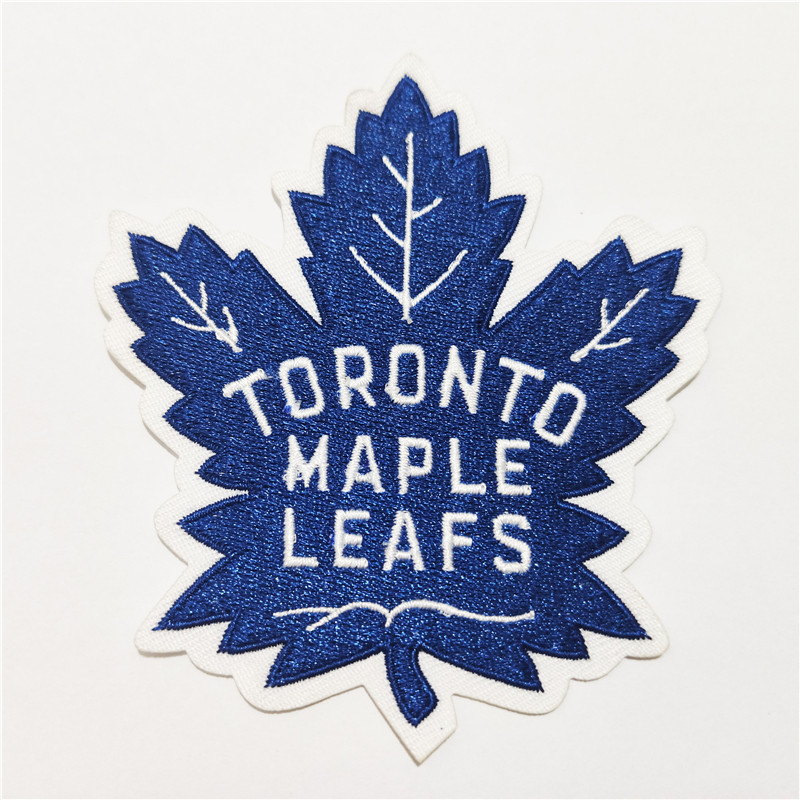 Toronto Maple Leafs Logo Iron-on Patch Velcro Patch 4 inches