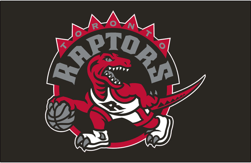 Toronto Raptors 2008-2015 Primary Dark Logo iron on transfers for clothing