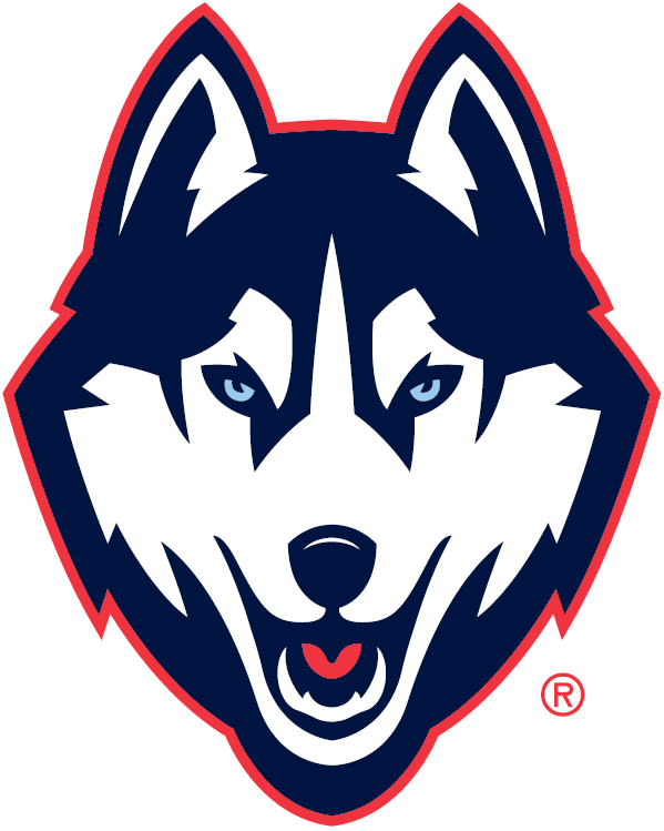 UConn Huskies 2013-Pres Partial Logo v4 iron on transfers for clothing...