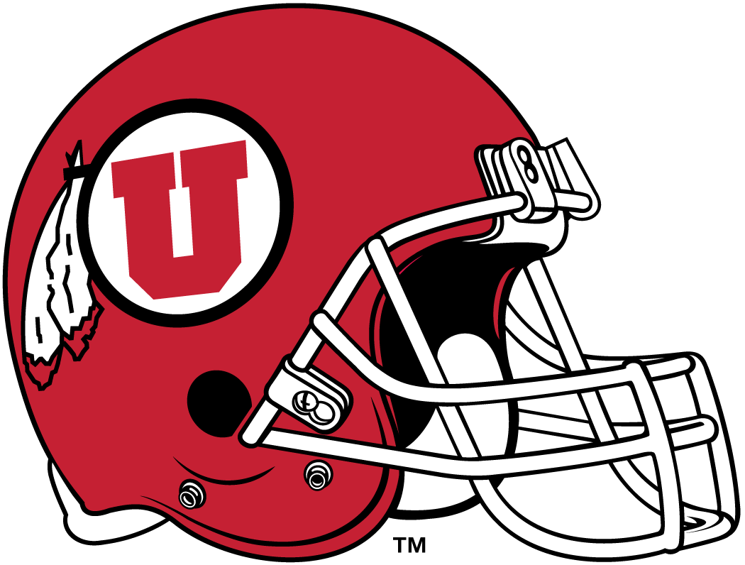 Utah Utes 1999-Pres Helmet Logo iron on transfers for clothing