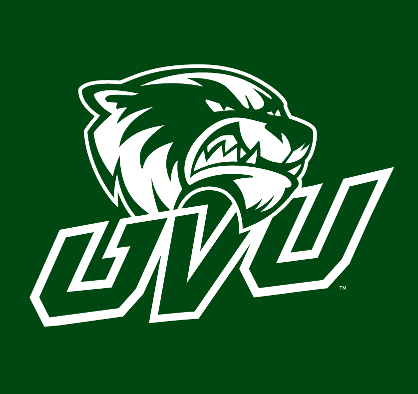 Utah Valley Wolverines 2012-Pres Alternate Logo v3 iron on transfers for clothing