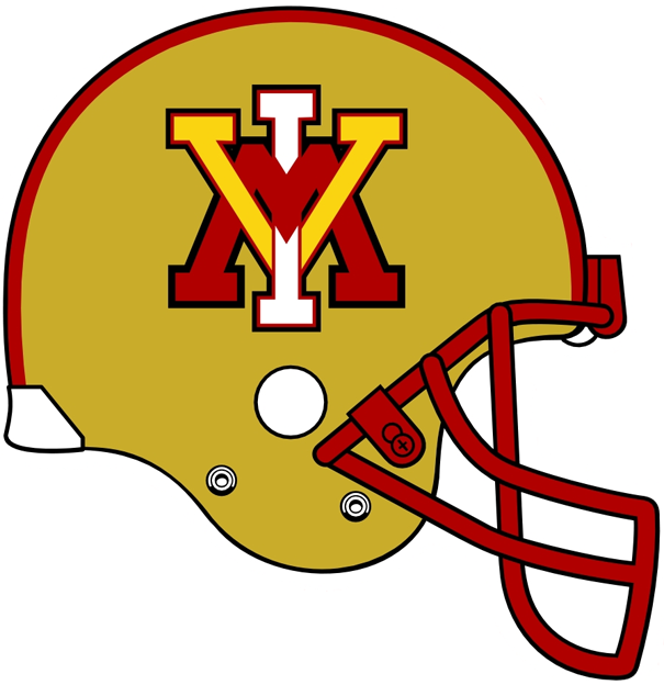 VMI Keydets 0-Pres Helmet Logo iron on transfers for clothing