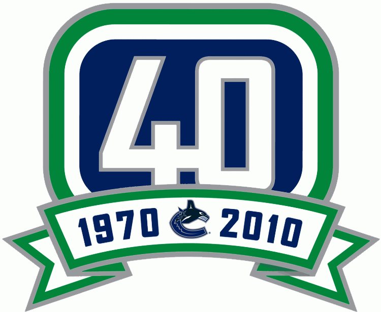 Vancouver Canucks 2011 Anniversary Logo iron on transfers for clothing