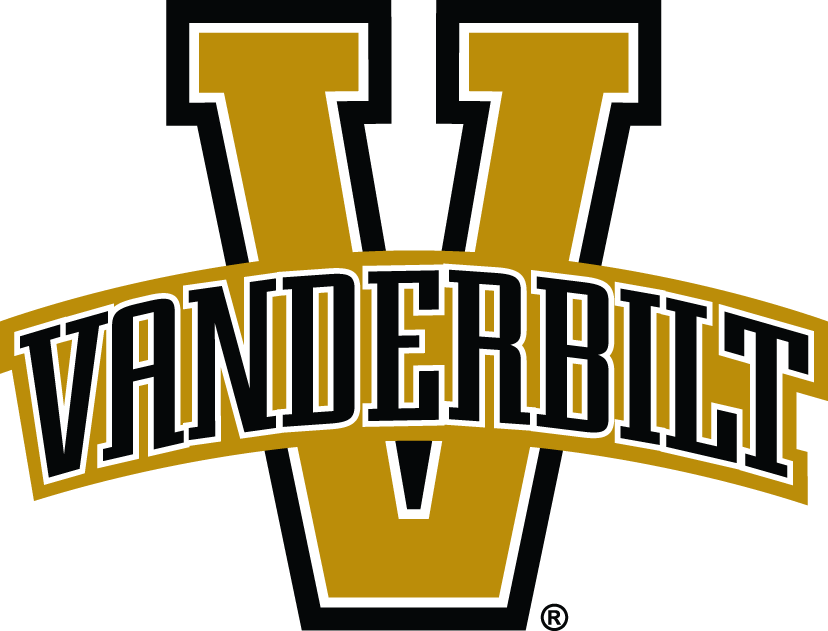 Vanderbilt Commodores 2004-2007 Primary Logo iron on transfers for clothing