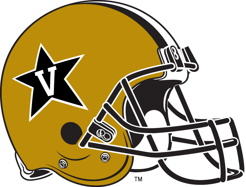 Vanderbilt Commodores 2008-Pres Helmet Logo iron on transfers for clothing