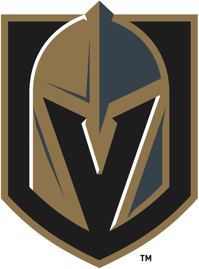 Vegas Golden Knights 2017-Pres Primary Logo iron on transfers for clothing