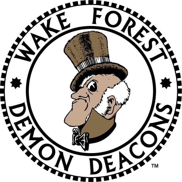 Wake Forest Demon Deacons 1968-1992 Primary Logo iron on transfers for clothing