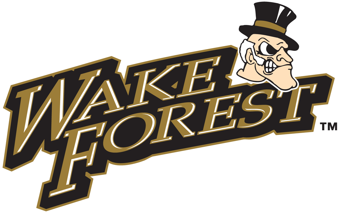 Wake Forest Demon Deacons 1993-2006 Primary Logo iron on transfers for clothing