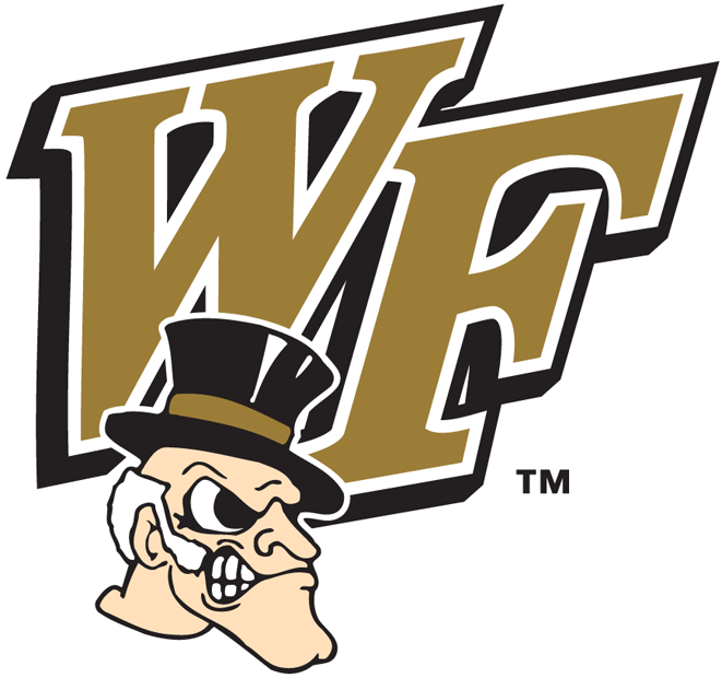 Wake Forest Demon Deacons 1993-2006 Secondary Logo iron on transfers for clothing