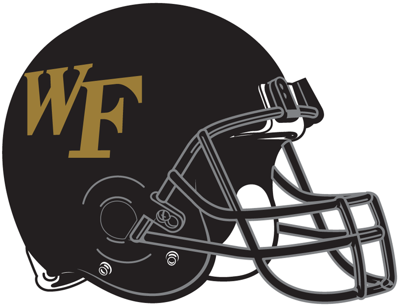 Wake Forest Demon Deacons 2007-Pres Helmet Logo iron on transfers for clothing