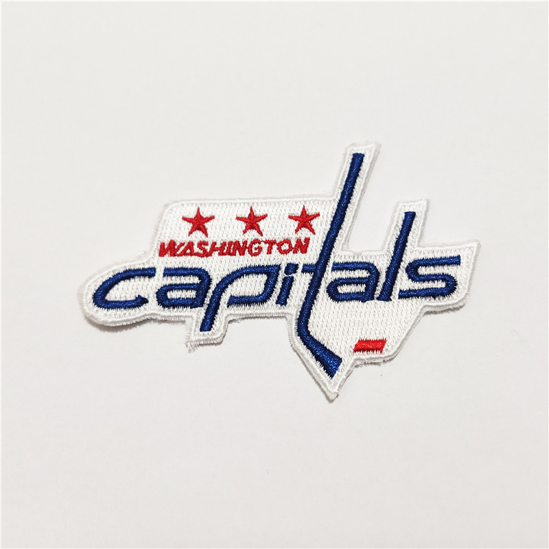 Washington Capitals Logo Iron-on Patch Velcro Patch 3.5 inches