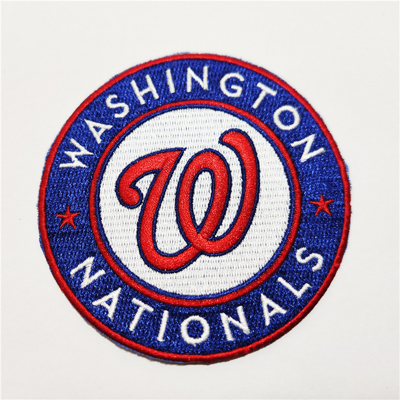 Washington Nationals Logo Iron-on Patch Velcro Patch 3.5 inches