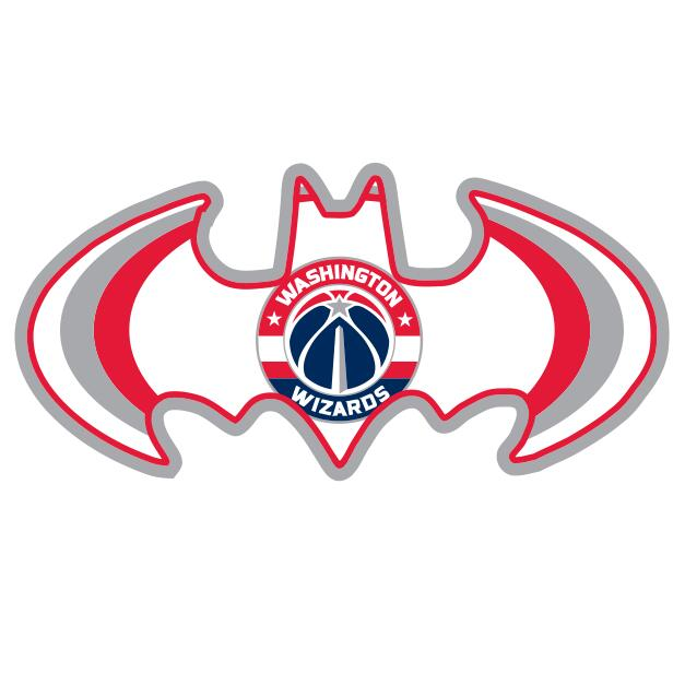 Washington Wizards Batman Logo iron on transfers