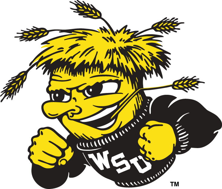 Wichita State Shockers 1992-2009 Secondary Logo v2 iron on transfers for clothing