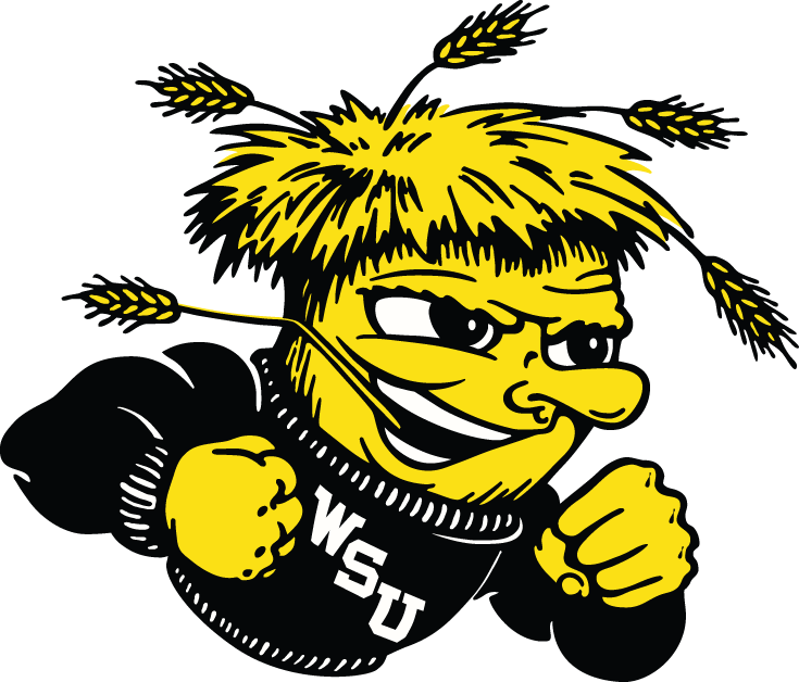 Wichita State Shockers 1992-2009 Secondary Logo iron on transfers for clothing
