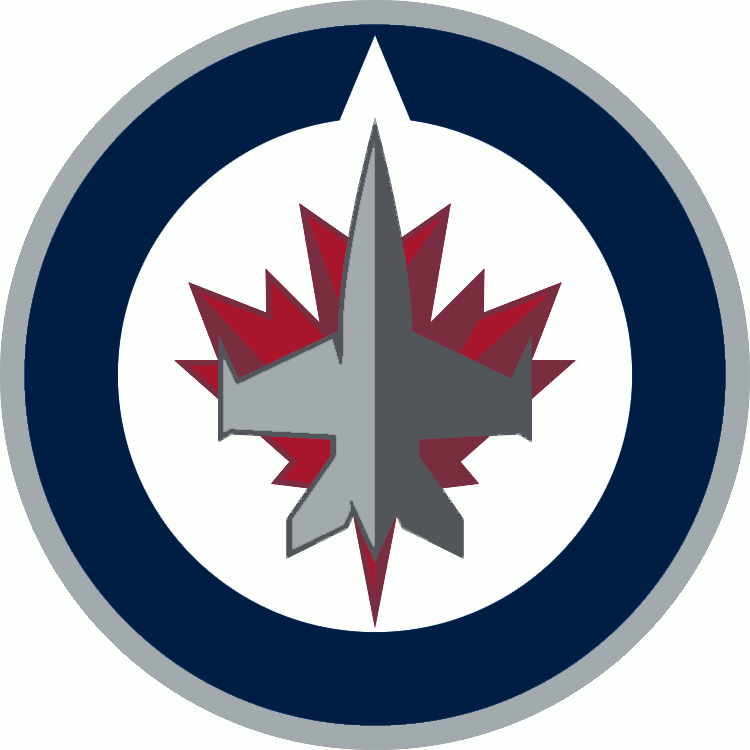 Winnipeg Jets 2011-Pres Primary Logo iron on transfers for clothing...