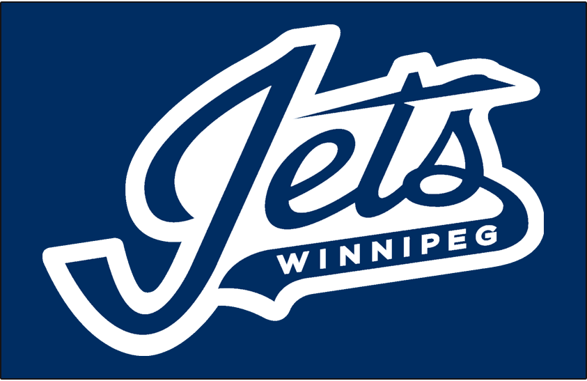 Winnipeg Jets 2018-Pres Wordmark Logo iron on transfers for clothing version 2