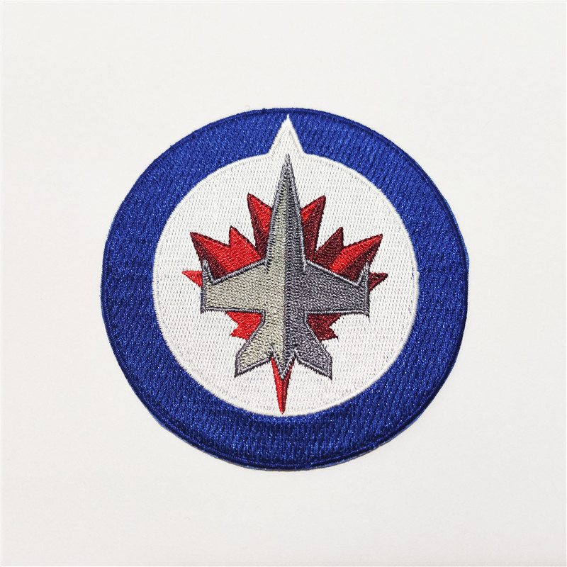 Winnipeg Jets Logo Iron-on Patch Velcro Patch 3.5 inches