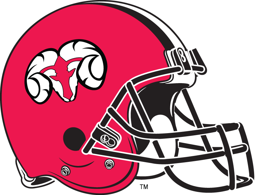 Winston-Salem State Rams 1992-Pres Helmet Logo iron on transfers for clothing