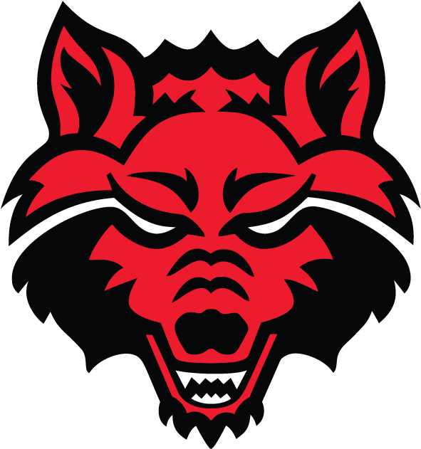 Arkansas State Red Wolves iron ons