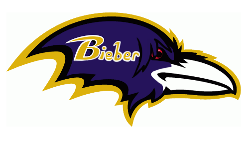 Baltimore Ravens Canadian Logos iron on transfers