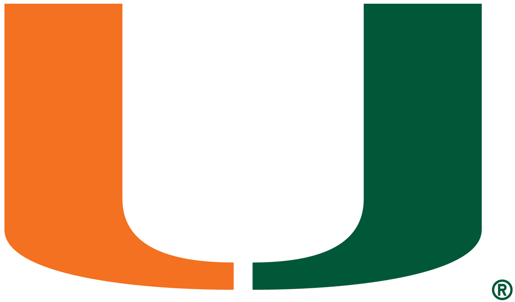 Miami Hurricanes iron ons