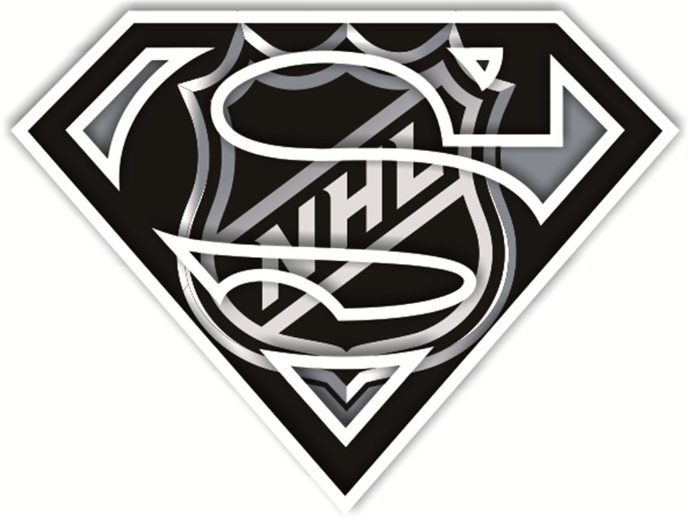 NHL Superman iron ons