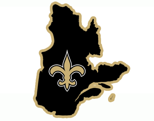 New Orleans Saints Canadian Logos iron on transfers