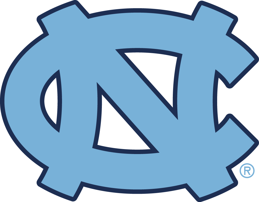 North Carolina Tar Heels iron ons