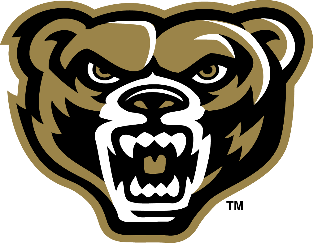 Oakland Golden Grizzlies iron ons
