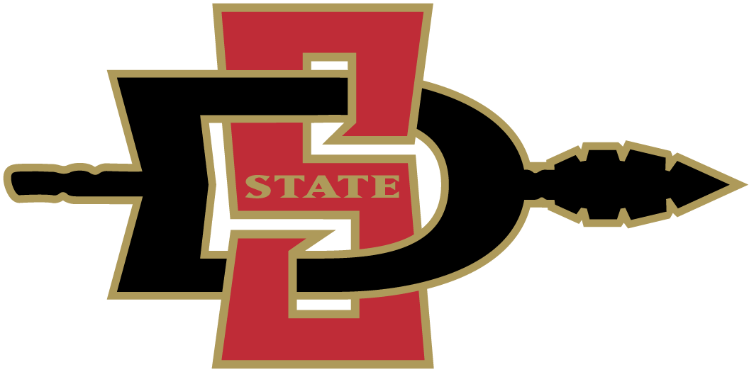 San Diego State Aztecs 2002-2012 Primary Logo iron on transfers for clothing