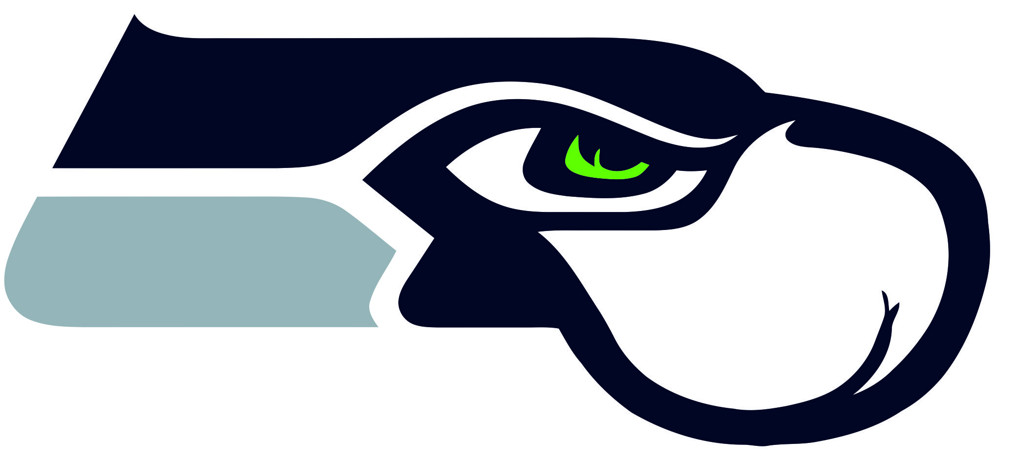 Seattle Seahawks Butts Logo iron on transfers